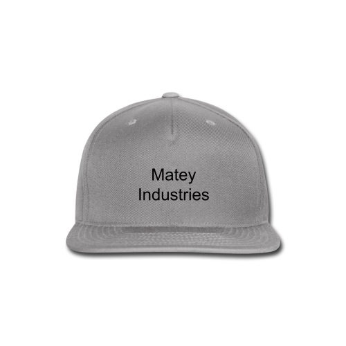Matey Industries Snap-back Baseball Cap - Snap-back Baseball Cap