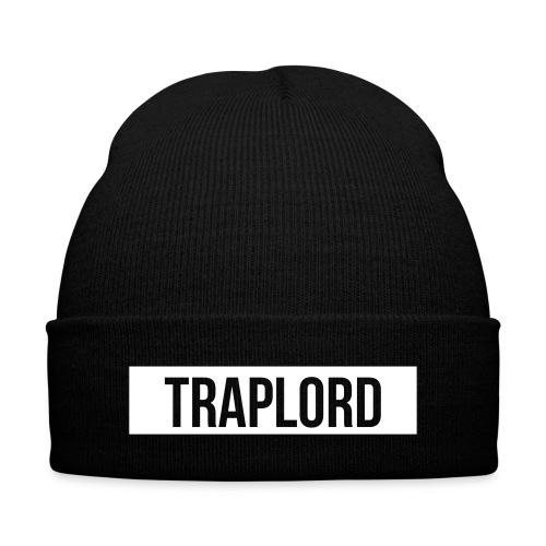 Trap Lord Beanie - Knit Cap with Cuff Print