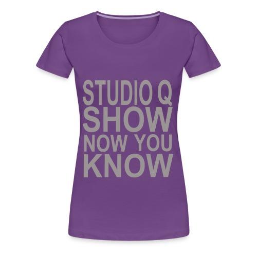 Women's Studio Q Show Tee - Women's Premium T-Shirt