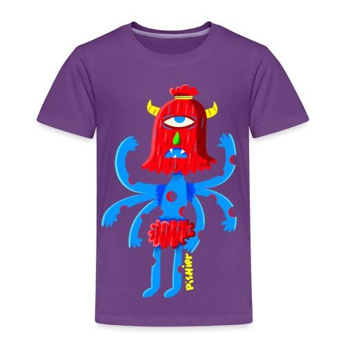 pishiermonstreetroit.png - Toddler Premium T-Shirt