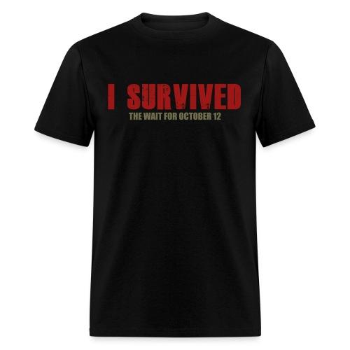 I Survived the Wait For October 12 Men's T-Shirt - Men's T-Shirt
