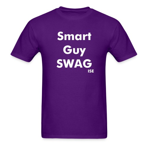 Smart Guy SWAG  - Men's T-Shirt