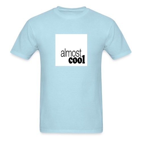 Almost Cool square white - Men's T-Shirt