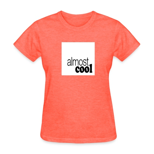 Almost Cool square white - Women's T-Shirt