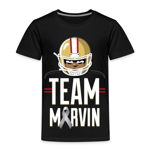 Team Marvin Toddler Shirt - Toddler Premium T-Shirt