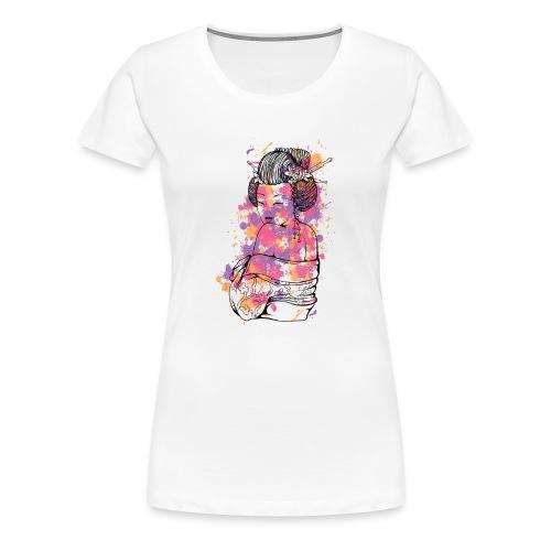 Japanese Girl - Women's Premium T-Shirt
