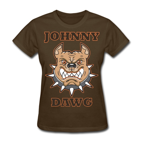 Johnny Dawg f - Women's T-Shirt