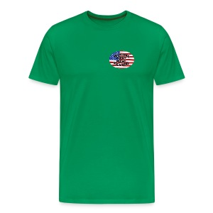 PPNF - USA front, Logo back - Men's Premium T-Shirt