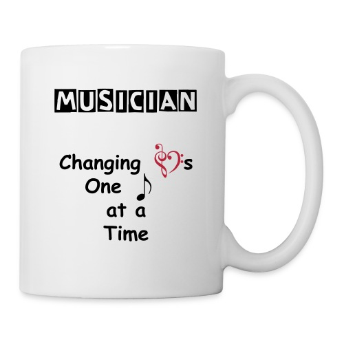 Musician Changing Hearts Mug - Coffee/Tea Mug