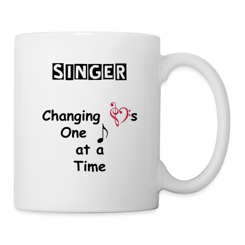 Singer Changing Hearts Mug - Coffee/Tea Mug