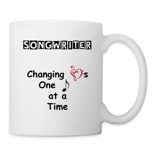 Songwriter Changing Hearts Mug - Coffee/Tea Mug