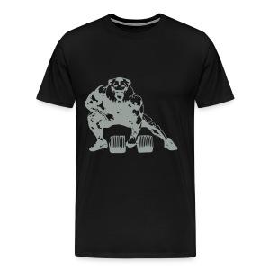 Lifting Lion - Men's Premium T-Shirt