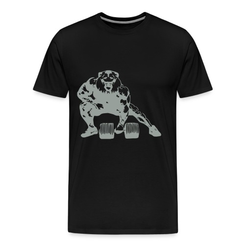 Lifting Lion - Men's Premium T-Shirt