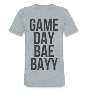 Generic: Game Day Bae Bayy - Unisex Tri-Blend T-Shirt by American Apparel