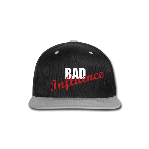 Bad Influence Snap-Back Hat - Snap-back Baseball Cap