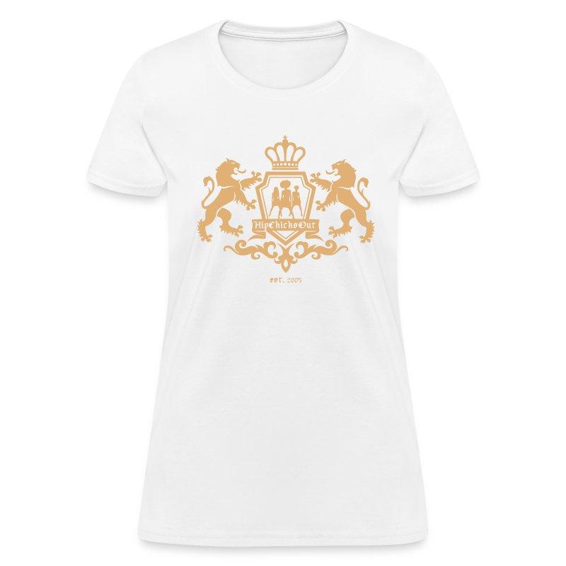 LIMITED EDITION: HipChicksOut Oktoberfest T-Shirt / Dirndl Jaeger - Women's T-Shirt