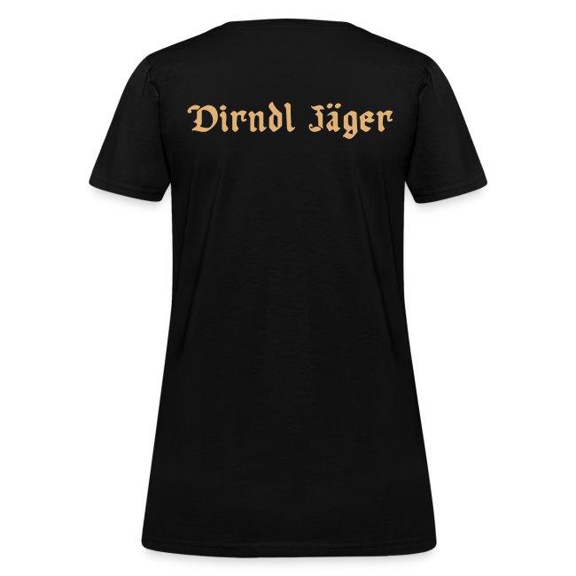 LIMITED EDITION: HipChicksOut Oktoberfest T-Shirt / Dirndl Jaeger