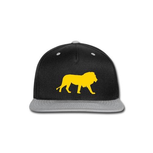 Gold Lion Snapback - Snap-back Baseball Cap