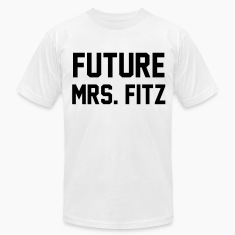 Future mrs. Fitz T-Shirts