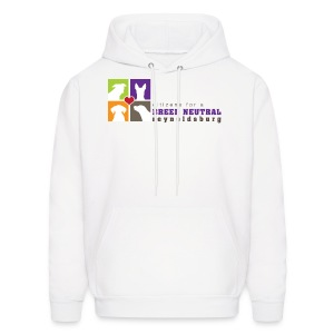 Men's Hoodie - t-shirt,sweatshirt,pit bull,dog,breed specific legislation,breed discrimination,breed ban,animal,Reynoldsburg,Freedom of dog,BSL,BDL