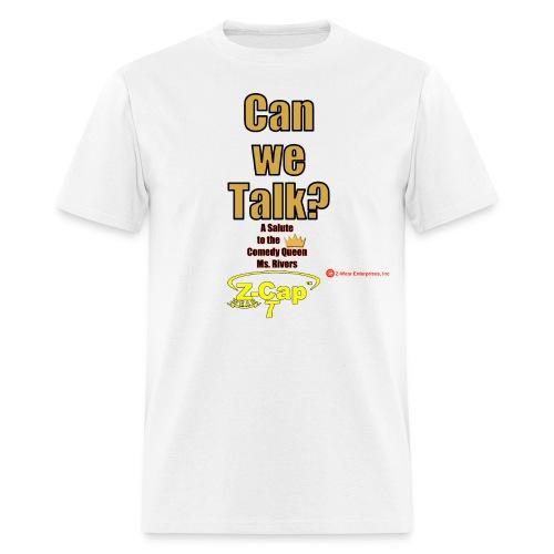 Can We Talk? Tribute to Joan Rivers Z-Cap T - Men's T-Shirt