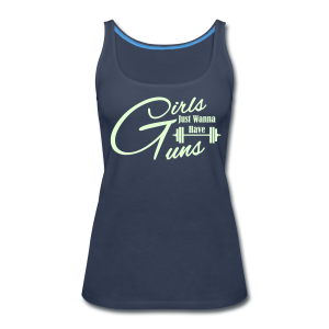 Girls just wanna have guns fitness - Women's Premium Tank Top