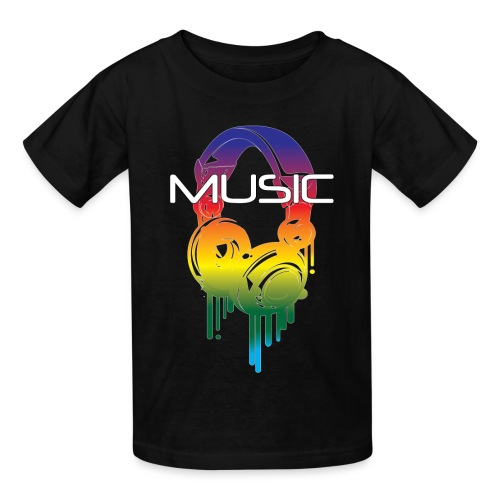 Hot Music - Kids' T-Shirt