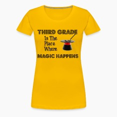 Women's Premuim T-shirt ThirdGradeMagic