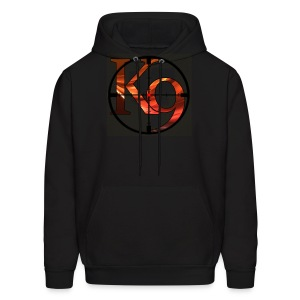 K9 Clan Hoodie with Red Logo and Customisable Lettering - Men's Hoodie
