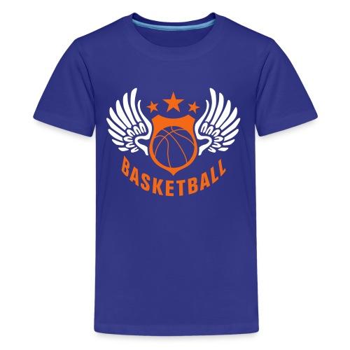 Basketball Mens T-shirt - Kids' Premium T-Shirt