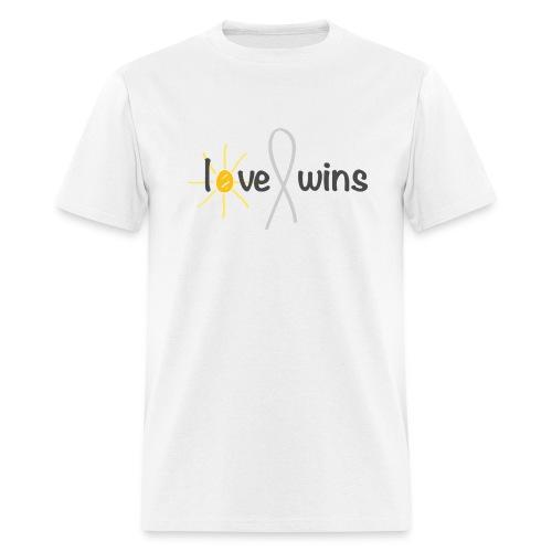Love Wins - White Shirt - Men's T-Shirt