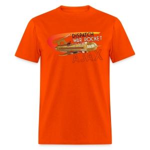 War Rocket Ajax Orange - Men's T-Shirt