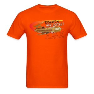 War Rocket Ajax Orange - Men's T-Shirt