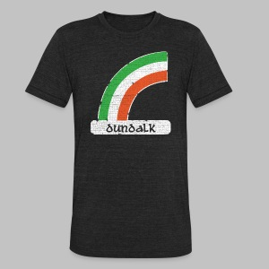 Dundalk Ireland Rainbow - Unisex Tri-Blend T-Shirt by American Apparel