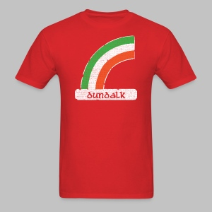 Dundalk Ireland Rainbow - Men's T-Shirt