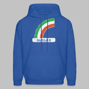 Dundalk Ireland Rainbow - Men's Hoodie