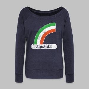 Dundalk Ireland Rainbow - Women's Wideneck Sweatshirt