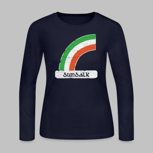Dundalk Ireland Rainbow - Women's Long Sleeve Jersey T-Shirt
