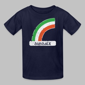 Dundalk Ireland Rainbow - Kids' T-Shirt