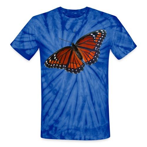 Viceroy Butterfly - Unisex Tie Dye T-Shirt