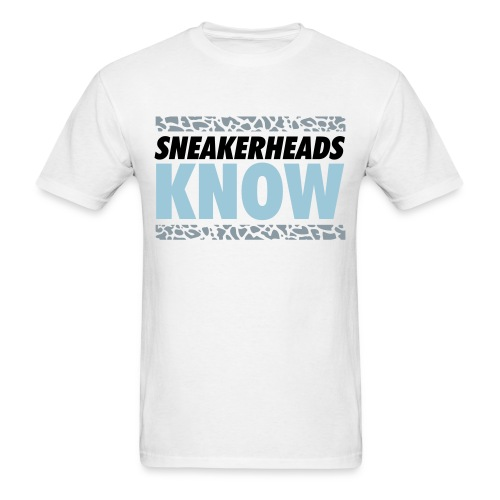 SneakerHeads Know Graphic T-shirt - Men's T-Shirt