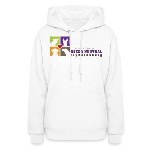 Women's Hoodie - t-shirt,sweatshirt,pit bull,dog,breed specific legislation,breed discrimination,breed ban,animal,Reynoldsburg,Freedom of dog,BSL,BDL