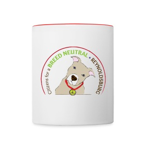 Contrast Coffee Mug - pit bull,mug,dog,coffee,breed specific legislation,breed discrimination,breed ban,animal,Reynoldsburg,Freedom of dog,BSL,BDL