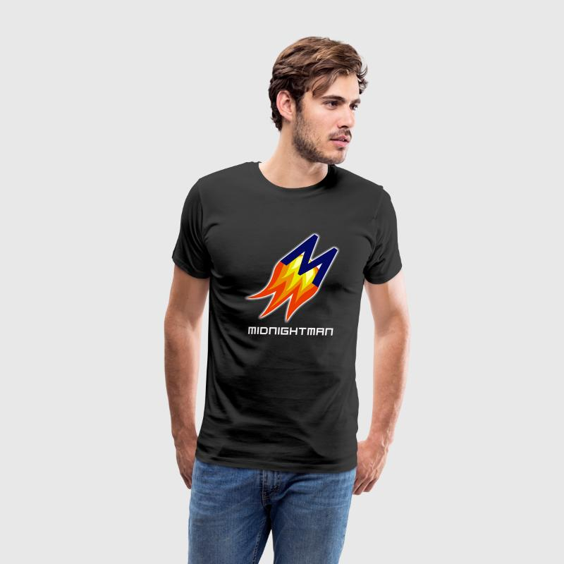 MidnightMan Logo.png T-Shirts - Men's Premium T-Shirt