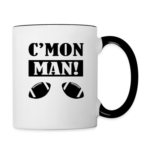 C'mon Man Coffee Mug - Contrast Coffee Mug