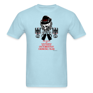 The League of Extraordinary Beer Drinkers Oktoberfest Drinking Team Men's T-Shirt - Men's T-Shirt