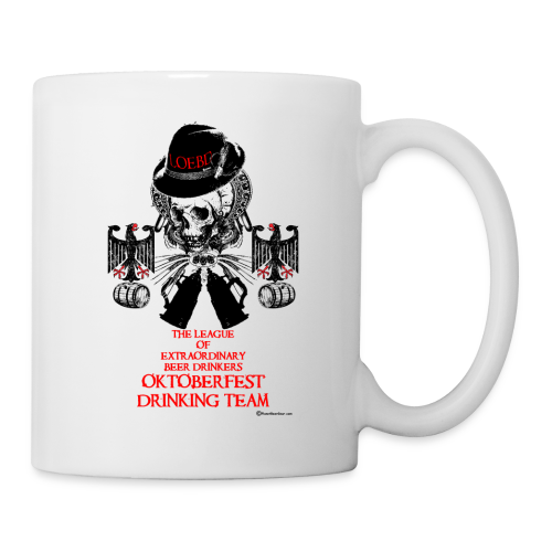 The League of Extraordinary Beer Drinkers Oktoberfest Drinking Team Coffee/Tea Mug - Coffee/Tea Mug