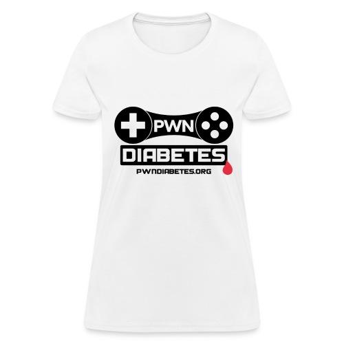 PWN Diabetes [Logo]               - Women's T-Shirt