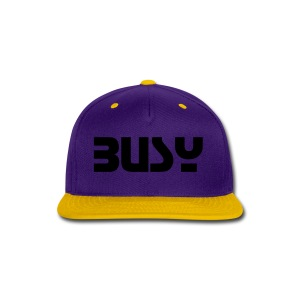 Busy - Snap-back Baseball Cap