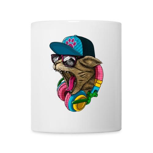 Yuhgi - Coffee/Mug: DJ CAT - Coffee/Tea Mug